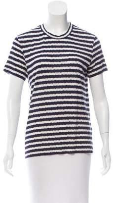 Kenzo Striped Short Sleeve Top