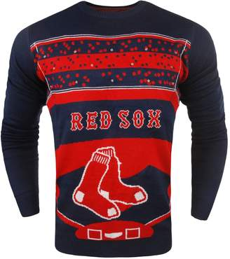 Men's Boston Red Sox Stadium Light-Up Holiday Sweater