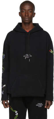 Stolen Girlfriends Club Black Razor Snake Hoodie
