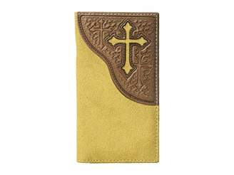 M&F Western Embossed Tab with Cross Rodeo Wallet