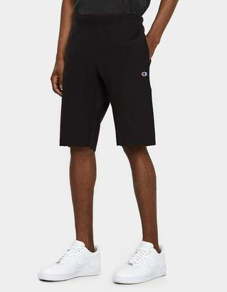 Champion Reverse Weave Sweat Shorts in Black