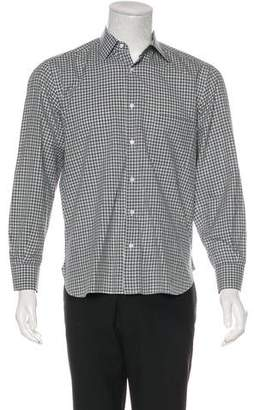 Luciano Barbera Button-Up Woven Shirt