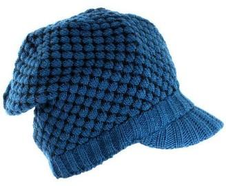 Nirvanna Designs Nirvanna Tuck-Knit Visor with Fleece Lining