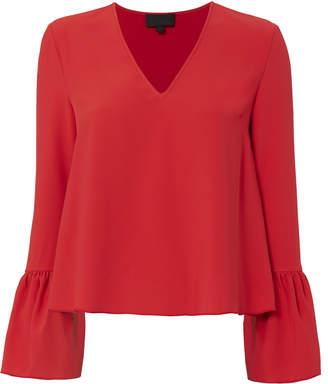 Intermix Katie Bell Sleeve Blouse