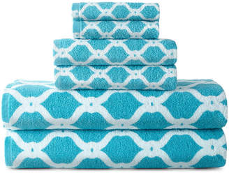 JCPenney JCP HOME HomeTM Ogee Trellis Bath Towel Collection
