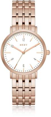 DKNY Minetta Rose Gold Tone Women's Watch