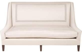 High-Back Upholstered Settee