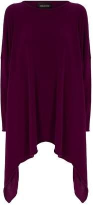 eskandar Cashmere Asymmetric Hem Sweater