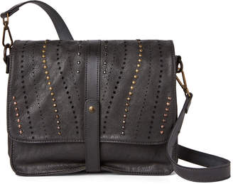 Kimberly Moda Luxe Black Studded Crossbody
