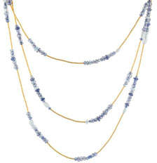 Gurhan Delicate Flurries 24K 3-Strand Gemstone Necklace