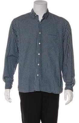 Steven Alan Plaid Woven Shirt