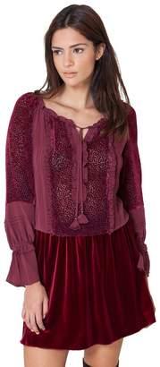 Hale Bob Gina Silk Smock Dress