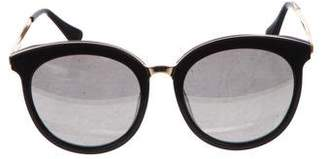 Gentle Monster Mirrored Circular Sunglasses