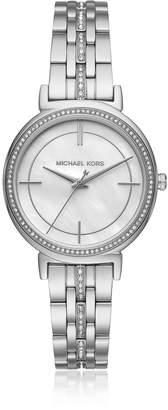Michael Kors Cinthia Silver Tone Women's Watch