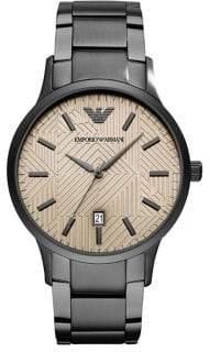 Emporio Armani Renato Stainless Steel Bracelet Dress Watch
