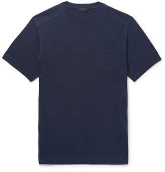 Belstaff Thom Cotton-Jersey T-Shirt - Men - Navy