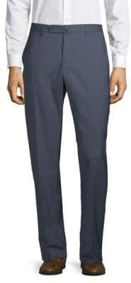 Incotex Textured Regular-Fit Trousers