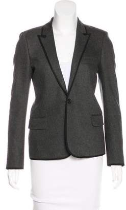 Saint Laurent Fitted Wool Blazer