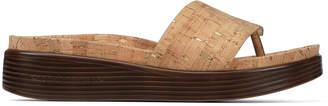 Donald J Pliner FIFI19, Metallic Cork Platform Sandal