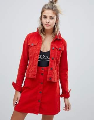 Noisy May corduroy jacket