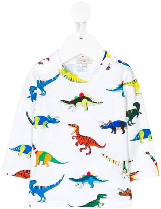 Paul Smith dinosaurs print longsleeved T-shirt