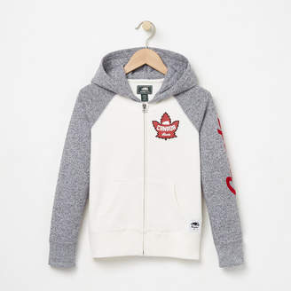 Roots Girls Heritage Canada Full Zip Hoody