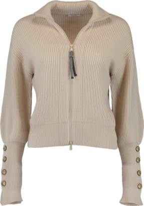 Cropped Zip Cardigan Shopstyle