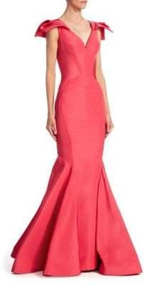 Zac Posen Silk Mermaid Gown