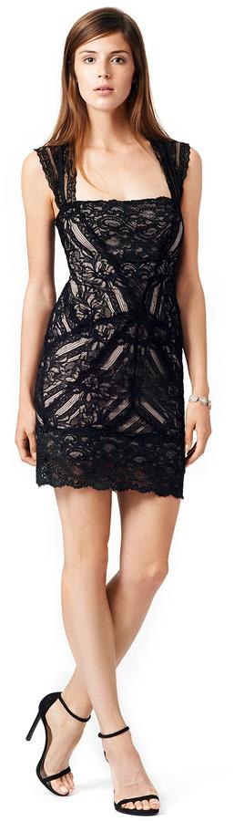 Nicole Miller Pretty Woman Lace Dress
