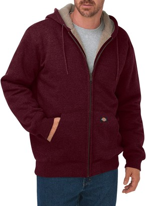 Dickies Men's Sherpa-Lined Fleece Hoodie