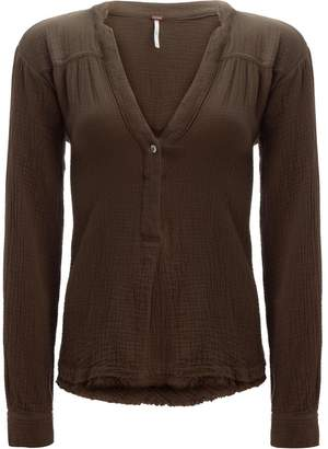 Free People Changing Horizons Pullover Shirt - Women's