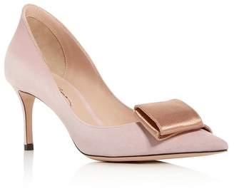 Giorgio Armani Women's Decolette Kitten-Heel Pumps