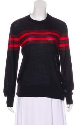 Sonia Rykiel Sonia by Wool-Blend Striped Sweater