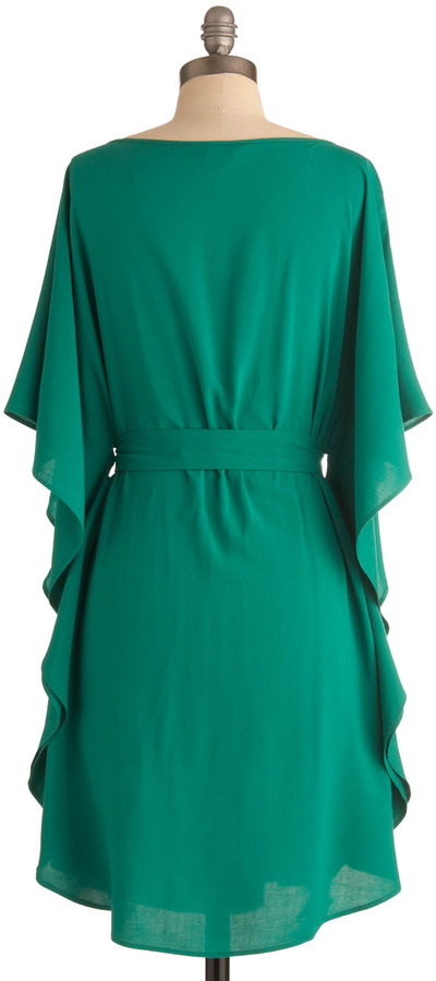 BB Dakota You and Me Forever Dress in Green