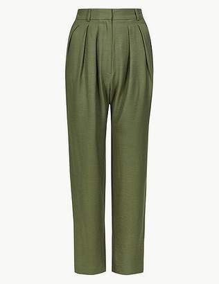 Marks and Spencer Straight Leg Trousers