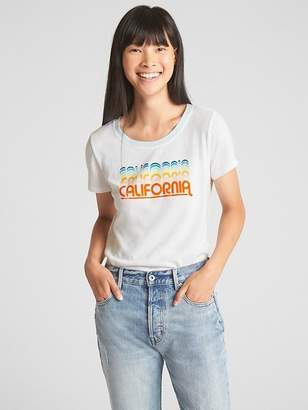 Gap Graphic Ringer T-Shirt