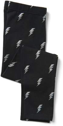 Crazy 8 Crazy8 Toddler Lightning Bolt Leggings
