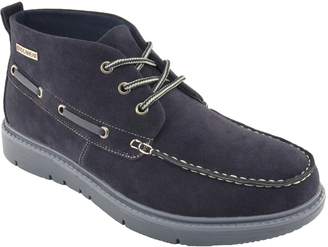 Navy Contrast Chukka Boot $49.99 thestylecure.com
