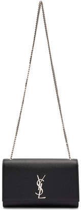 Saint Laurent Black Medium Kate Chain Bag