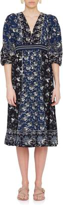 Ulla Johnson Iona Batik Dress in Indigo