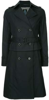 GUILD PRIME double breasted peplum coat