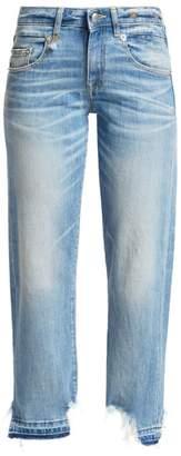 R 13 Boy Straight-Leg Jeans