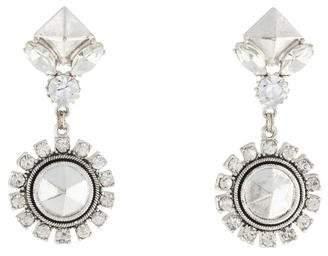 Erickson Beamon Crystal Drop Earrings