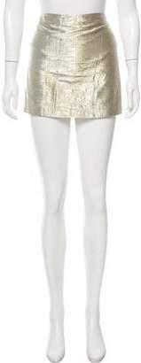 Alice + Olivia Sequined Mini Skirt