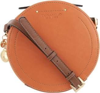 Tignanello Vintage Leather Circle Crossbody Handbag -Varese