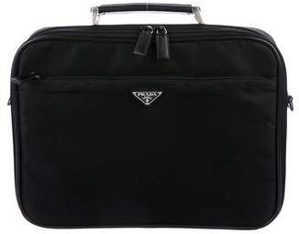 Prada Tessuto Laptop Messenger Bag