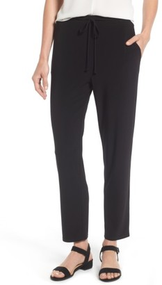 Women's Chaus Drawstring Waist Ankle Pants $59 thestylecure.com