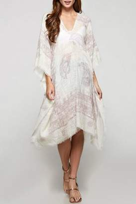 Love Stitch Lovestitch Paisley Print Caftan