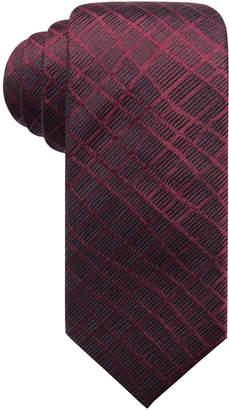 Alfani Men's Abstract Geometric Silk Slim Tie, Created for Macy's