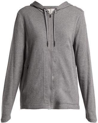 Falke Zip-front hooded sweatshirt